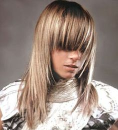 NATURALLY Ash Base w/ VERY Cool Highlights- Hair Color....Fine to Medium mostly Straight Hair