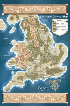King Arthur Pendragon: Notes, Maps and Links for your Pendragon Game