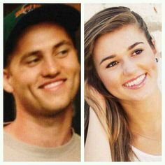 Sadie Robertson just tweeted this side by side of her and her dad Willie Robertson. Duck Dynasty before the beards. Wow!
