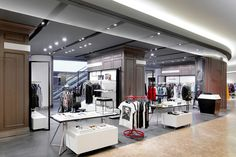 Galeries Lafayette store by HMKM, Beijing   China store design