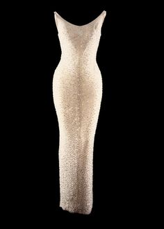 """During a 1999 auction, Marilyn Monroe's infamous """"Happy Birthday, Mr. President"""" dress went for $1,267,500."""