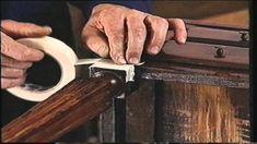 Curso Practico de restauración 2º Reparación del chapado Old Furniture, Just Do It, Repurposed, Restoration, Diy Crafts, Wood, Art Conservation, Restore, Home Decor