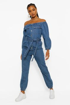 Cute Swag Outfits, Sporty Outfits, Sexy Outfits, Trendy Outfits, Jumpsuit Outfit, Jeans Jumpsuit, Overalls, Denim Playsuit, Rock N Roll