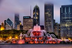 The Buckingham Memorial Fountain – Chicago, Illinois, USA