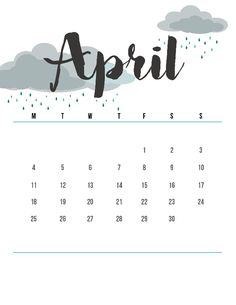 April 2016 Calendar Design #design #graphicdesign #calendar  Follow me on Instagram: @livelypanda | Update: So many have liked and repinned this calendar that I have decided to upload it so everyone can print and enjoy it! Print & enjoy! <3