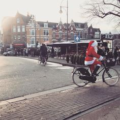 Gespot vandaag: de kerstman in Haarlem  #haarlemcityblog #haarlem #kerst