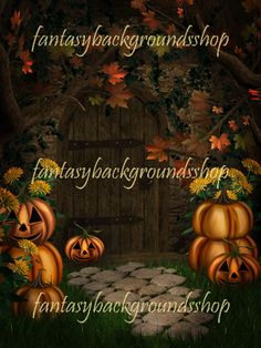 """Halloween Night  $10.00  """"Halloween night"""" is a collection of 10 fantasy backgrounds combined with 2D and 3D elements,   including old house with all rooms and courtyard decorated in the tradicional way, with pumpkins,   simply that you can not wait to come next Halloween.     """"Halloween night"""" backgrounds are high resolution JPEG files, size 3000x4000 pixels, 300 dpi."""