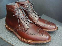 Alden Brown Chromexcel Wingtip Boot
