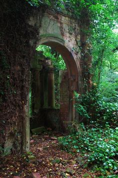 Medieval Portal, Lincolnshire, England- an old entrance to a secret garden, Abandoned Buildings, Abandoned Places, Abandoned Castles, Haunted Places, Abandoned Mansions, Beautiful World, Beautiful Places, Beautiful Forest, Beautiful Pictures