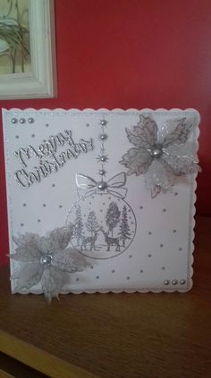 Homemade Christmas Cards, Christmas Stuff, Christmas Holidays, Christmas Crafts, Xmas Cards, Holiday Cards, Chloes Creative Cards, Stamps By Chloe, Diy And Crafts