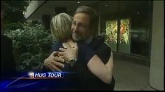 Five years ago WUSA 9 followed me on a #HugTour around Dupont Circle in Washington, DC.   I met great friends at their offices and hugged a few strangers along the way, like this businessman. I remember his sweet face well.  If my TV hugs inspired viewers to hug their loved ones: Mission Accomplished. Hopefully it inspires you to do the same today.  Full video at SimplyLeap.com/Hug