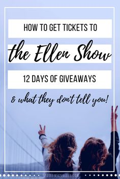 One month ago we were blessed to be asked by our amazing friends to go with them on The Ellen Show during Ellen's 12 Days of Giveaways! I wanted to share our experience and answer questions for you like: How do you get tickets to The Ellen Show? What do I wear to The Ellen Show? Do I get to sit with my friends at The Ellen Show? I've also included the behind-the-scenes secrets that they don't tell you! Enjoy!