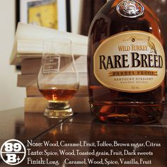 Wild Turkey Rare Breed 2015 Release is a seriously good whiskey. It stuck out like a sore thumb at the epic wild turkey rare breed tasting I took part in recently it didn't stick out in a bad way and seemed to rank highly for most of the folks at the event. It has a different nature from past releases, but different doesn't always mean bad and that difference for Wild Turkey seems to be a touch of fruit.