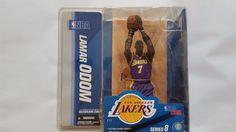 McFarlane Series 8 Lamar Odom Los Angeles Lakers Action Figure #McFarlaneToys
