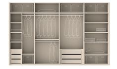 Detailed Interior wardrobe. This would be great if you've got a lot of stuff. Perth House Painters | Recommended Painters and Decorators in Perth http://www.perthhousepainters.com