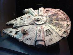 Identities: The Exhibition - Millennium Falcon Model, Nave Star Wars, Interactive Exhibition, Falcons, Gundam, Identity, Stars, Ideas, Sculpture