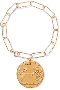 Il Leone gold-plated