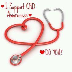 I Support CHD Awareness <3 Do You?