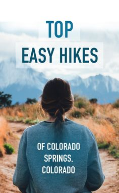 Easy hikes near Colorado Springs, Colorado Colorado Trip, Visit Colorado, Colorado Springs Hikes, Colorado National Parks, Hiking Spots, Camping Spots, Hiking Tips, Camping Places, Camping Tips