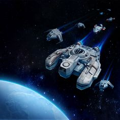 Star Wars Uprising Smuggler's ship