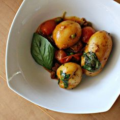 Coconut Potato Curry with Basil and Cashews...Eat.Live.Be.