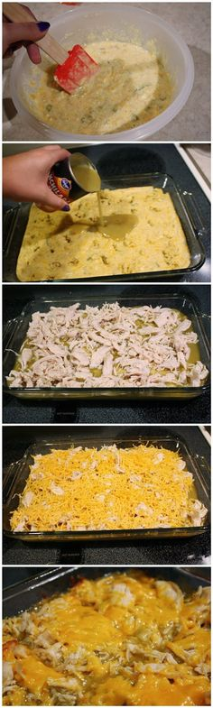Chicken Tamale Casserole ~ Eatviews