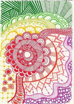 Doodles with balance Tangle Doodle, Tangle Art, Doodles Zentangles, Zen Doodle, Doodle Art, Doodle Patterns, Zentangle Patterns, Cool Doodles, Sharpie Art