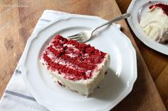 The Red Feedsack: For the Love of Red Velvet {cake that is!}