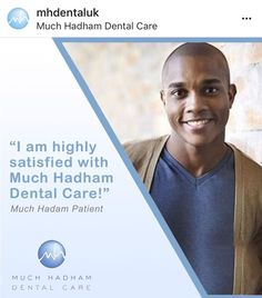 """""""I am highly satisfied with Much Hadham Dental Care!  Erica is brilliant - very knowledgeable and reassuring. Thank you for your help both in emergency and routine appointments, we wouldn't look elsewhere for our dental care!"""" – Much Hadham Dental Patient. . . . #smile #mismile #smilebrighter #dentist #teeth #dentalhealth #confidence #muchhadham #instagood Dental Health, Oral Health, Dental Care, Teeth Straightening, Root Canal Treatment, Perfect Smile, Dental Services, Teeth Care, Dental Hygienist"""