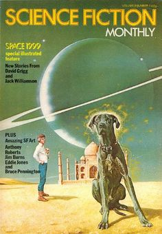 Publication: Science Fiction Monthly, January 1976  Editors: Julie Davis Year: 1976-01-00 Publisher: New English Library  Cover: Jim Burns