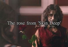 """The rose from """"Skin Deep"""". - Just OUAT things"""