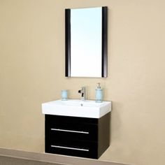 Shop for Castelli Black Bathroom Vanity. Get free delivery at Overstock.com - Your Online Furniture Outlet Store! Get 5% in rewards with Club O!