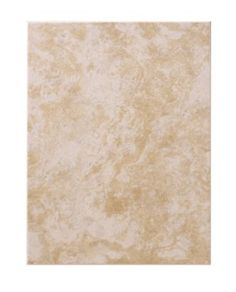 Colours Pack of 12 Ceramic Beige Wall Tiles (L)330 x (W)250mm, 5030659055224