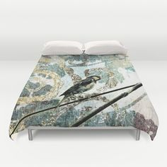 Cover yourself in creativity with our ultra soft microfiber bird duvet covers. Hand sewn and meticulously crafted, these lightweight duvet covers vividly feature your favorite designs with a soft white reverse side. Hand Sewn, Your Favorite, Duvet Covers, Outdoor Blanket, Creativity, Bird, Crafts, Design, Manualidades