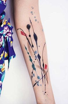 You might have tattoos yourself, or just like to admire them from afar, but these are drool-worthy for any design junkie and interiors addict
