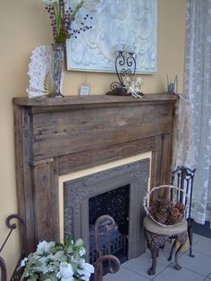 Find an eclectic mix of old and new at Victorian Fireplace Shop: antiques, reproductions & even some products in very contemporary styles