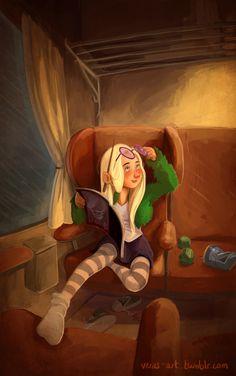 Luna Lovegood by vera's artblog