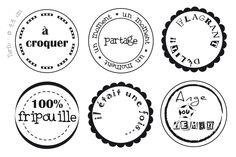 Sandscrap: étiquettes scrap gratuites