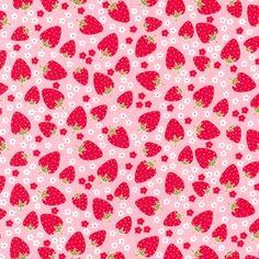 Michael Miller Fabric, Pink Blossom Berries, 1 yard. $8.50, via Etsy.