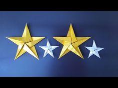 星の折り紙(origami star)~1枚でつくる星の折り方~ - YouTube