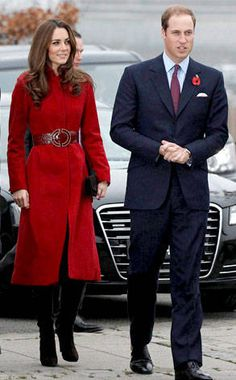 Red Coats from Kate Middleton's Best Looks