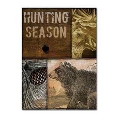 Color Bakery 'Hunting Season IV' Canvas Art