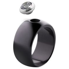 MelanO Magnetic Ring Ceramic Black