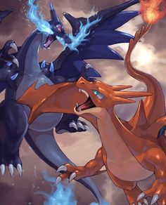 Mega Charizard X and Y #FunnyPokemonImages
