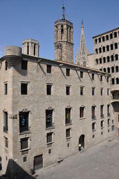Barcelona, Palau del Lloctinent d'Antoni Carbonell, 1549-1557.