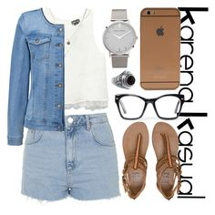 """KarenaKasual-Hang The Jeans Out"" by nesyagata on Polyvore"