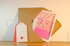 Love Bird Card Anniversary Birthday and by DobrowolskiDesigns