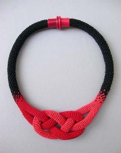 PaperBijou • Gorgeous crocheted necklaces by Hildegund Ilkerl,...