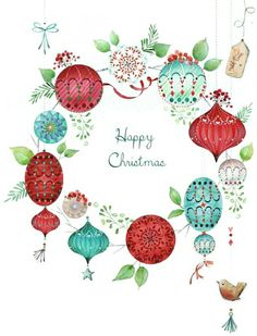 Sending warm wishes at Christmas time, to brighten up your day. May the festive season bring lots of joy, and happiness your way. Merry Christmas and Happy New Year. From Sarah Kay