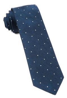 Bulletin Dot Ties - Navy | Ties, Bow Ties, and Pocket Squares | The Tie Bar